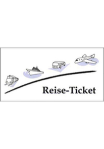 Reise-Ticketmappe